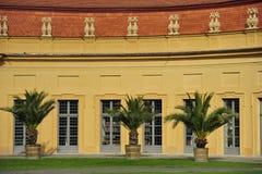 Oranjerie in Erlangen Stock Fotografie