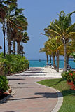 Oranjestad στο Aruba Στοκ Φωτογραφία
