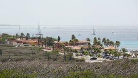 Oranjestad στο Aruba Στοκ Φωτογραφίες