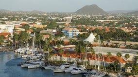 Oranjestad στο Aruba Στοκ φωτογραφίες με δικαίωμα ελεύθερης χρήσης