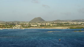 Oranjestad στο Aruba Στοκ Εικόνες
