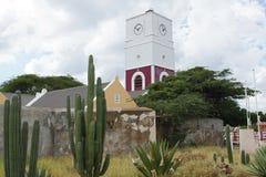 Oranjestad, Aruba, îles d'ABC Image libre de droits