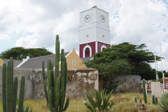Oranjestad, Aruba, ilhas de ABC Imagem de Stock Royalty Free