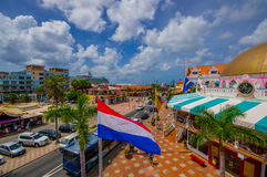 ORANJESTAD, ARUBA - NOVEMBER 05, 2015: Port used Royalty Free Stock Image