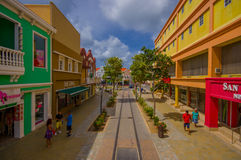 ORANJESTAD, ARUBA - NOVEMBER 05, 2015: Port used Stock Photography