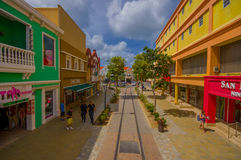ORANJESTAD, ARUBA - NOVEMBER 05, 2015: Port used Royalty Free Stock Images