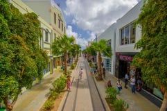 ORANJESTAD, ARUBA - NOVEMBER 05, 2015:Streets of Stock Photos
