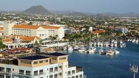 Oranjestad in Aruba Royalty Free Stock Images