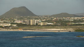 Oranjestad in Aruba Stock Photography