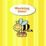 Orario di lavoro! Royalty Illustrazione gratis