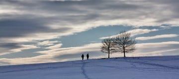 Orario invernale in Baviera fotografie stock