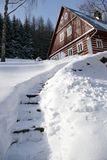 Orario invernale gigante 2 delle montagne Immagine Stock Libera da Diritti