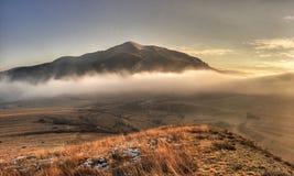 Orastie Mountains. In winter, Romania Royalty Free Stock Photos
