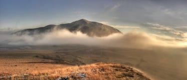 Orastie Mountains. In winter, Romania Stock Image