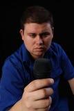 Orateur Photographie stock