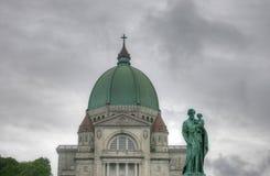 Oratoire Saint Joseph du Mont-Kunglig person Royaltyfri Foto