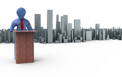 Orator Stock Images