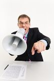 Orator Royalty Free Stock Photography