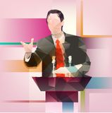 Orator Royalty Free Stock Image