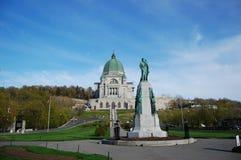 Oratoria del Joseph del san a Montreal fotografia stock libera da diritti
