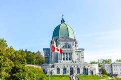 Oratoria del ` s di Saint Joseph di reale del supporto situato a Montreal Fotografie Stock Libere da Diritti