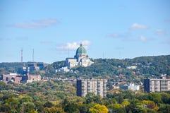 Oratoria del ` s di Saint Joseph di reale del supporto situato a Montreal Immagine Stock Libera da Diritti