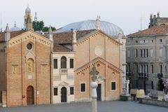 Oratoria del San Giorgio a Padova fotografia stock libera da diritti