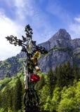 Oratoria nelle montagne Immagini Stock