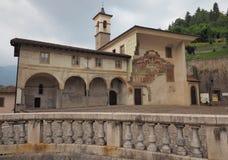 Free Oratorio Dei Disciplini: Dance Of The Death, Ancient Fresco And Square. Royalty Free Stock Image - 121500296