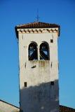 Oratorio della Beata Vergine, in Conegliano Veneto, Italy. Tower of Oratorio della Beata Vergine, near the medieval Castello, in Conegliano, in Veneto, Treviso Stock Photography