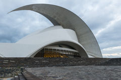 Oratorium de Calatrava avec le ciel de soirée Image stock