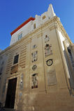 Oratory of San Felipe Neri, constitution of 1812, Cadiz, Spain Stock Photography