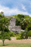 Oratory Temple of Mayan Ruins Royalty Free Stock Photo