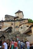 Orava城堡,斯洛伐克 免版税库存图片