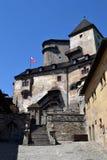 Orava,斯洛伐克 免版税库存图片