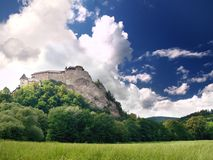 Orava Castle Royalty Free Stock Image