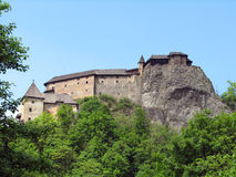 Orava castle Royalty Free Stock Photo