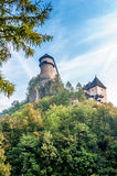 Orava Castle. Fortification on The Hill - Slovakia stock photography