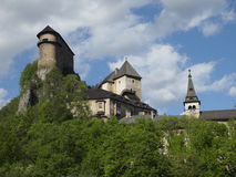Orava castle Stock Image