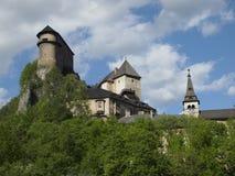 Orava castle Stock Image