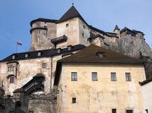 Orava castle. In Slovak republic stock photo
