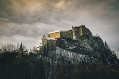 Orava Castle - Slovak Republic royalty free stock photos