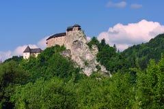 Orava Castle, Slovakia stock image