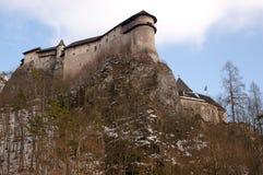 Orava Castle - Slovakia royalty free stock images