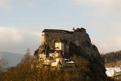 Orava Castle - Slovakia royalty free stock photography