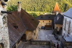 Orava castle, Slovakia. royalty free stock images