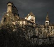 Orava castle, Slovakia. Orava castle in village Oravsky Podzamok, Slovakia royalty free stock photography