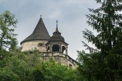 Orava castle tower stock photography