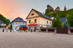 Orava castle. View of Orava castle in northern Slovakia royalty free stock images