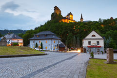 Orava castle. royalty free stock image